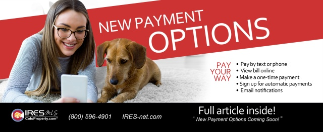 New payment options
