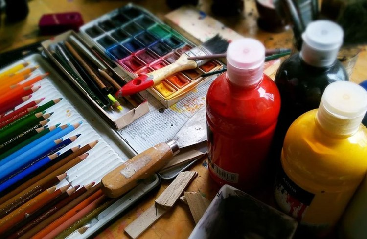 Artist pallette.
