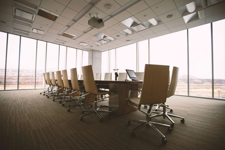 Empty Conference Room.