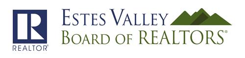 Estes Valley Board of Realtors logo.